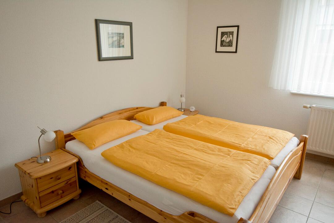 Schlafzimmer im Erdgeschos